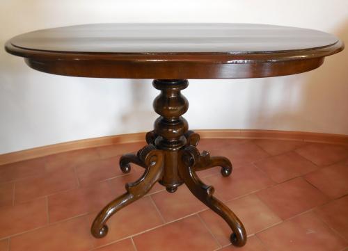 Stůl - Po restaurování