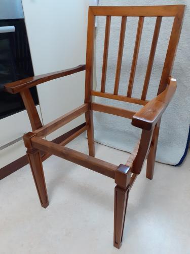 Židle Art Deco - Po restaurování